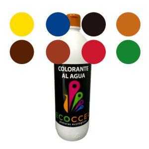 Caja 8 colores tinte ecológico 1lt