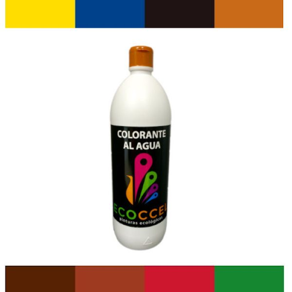Tinte o colorante ecológico 1lt